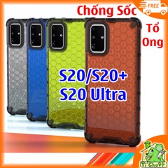 Ốp Lưng Samsung S20 S20 Plus S20 Ultra Chống Sốc Tổ Ong