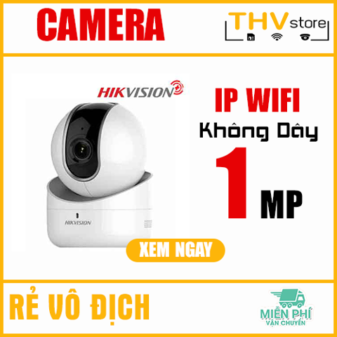 CAMERA IP ROBOT 1MP HIKVISION PLUS HKI-2Q01EFD-IW