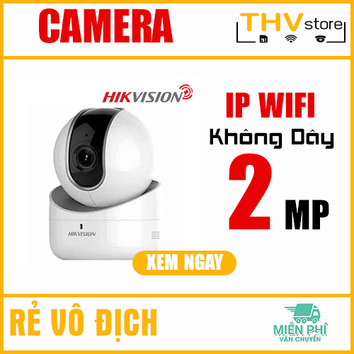 CAMERA IP ROBOT 2MP HIKVISION PLUS HKI-2Q21FD-IW