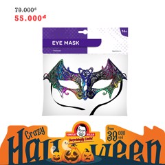 Mặt nạ mắt cột dây 3D Halloween Uncle Bills UH00667