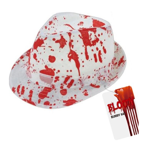 Bloody Hat - White