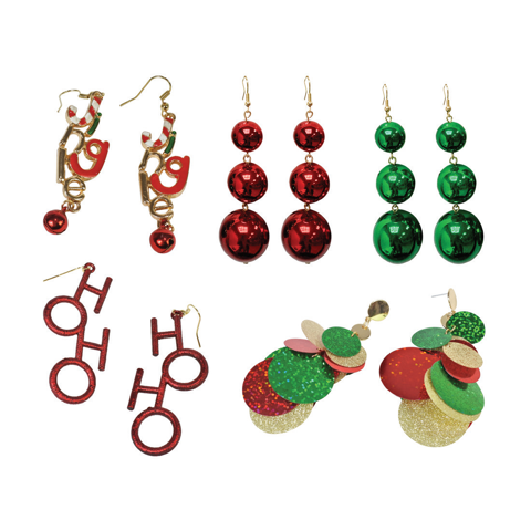 DROP EARRINGS MIX 5asst Uncle Bills XC0068