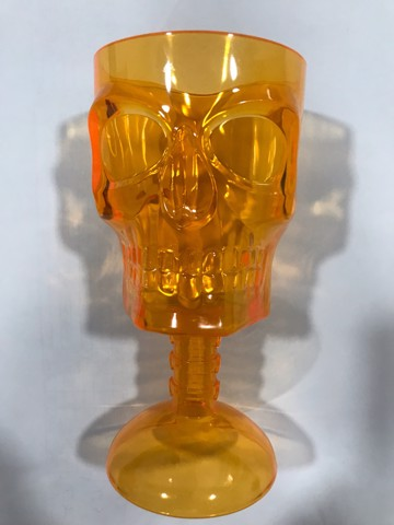 SKULL WINE CUP 3 ASSORTED