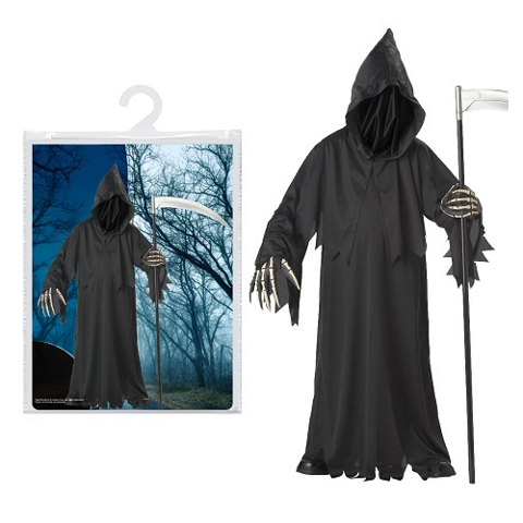 Costume - Faceless Reaper Mens - L