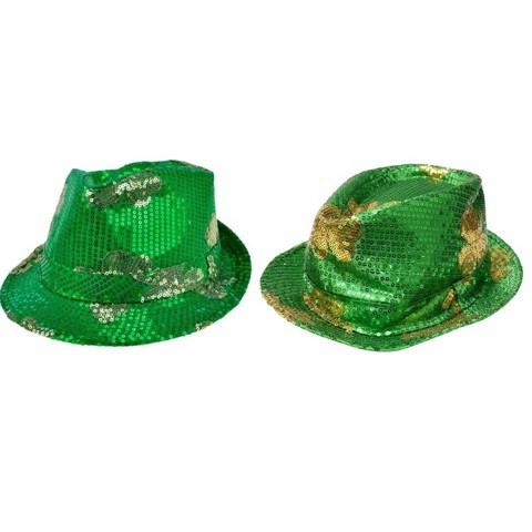 SEQUIN SHAMROCK HAT
