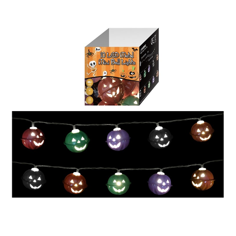String Light 10 Leds - Metal Mini Bells