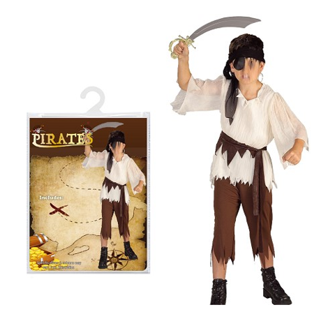 Costume - Pirate Boys - S