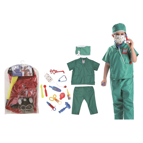 Costume - Surgeon Kids - M