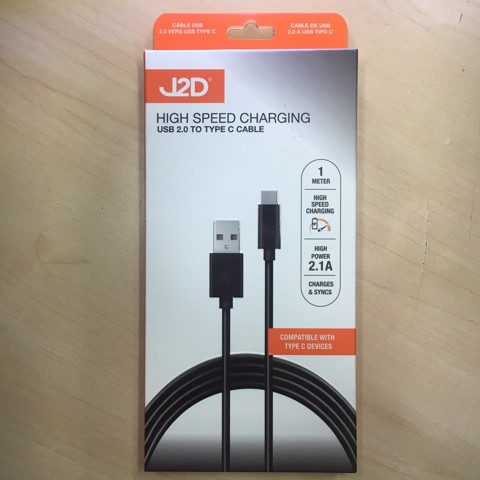 USB 2.0 TO TYPE C CABLE 1M