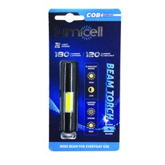FLASHLIGHT BEAM TORCH W/COB