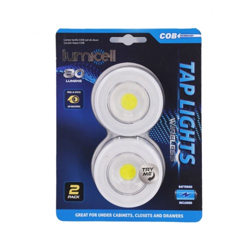 COB TAP LIGHT 2PK