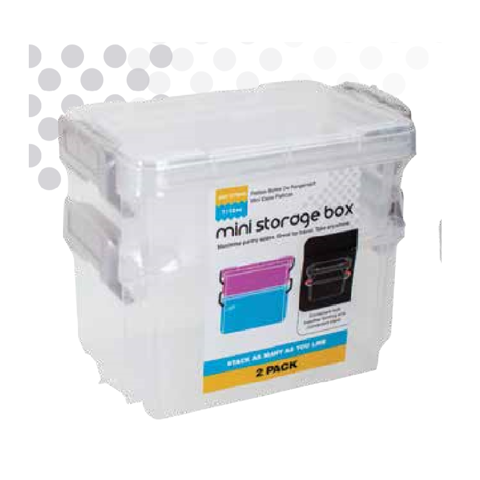MINI STORAGE BOX 2PK