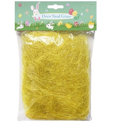 SISAL GRASS 30g   YELLOW