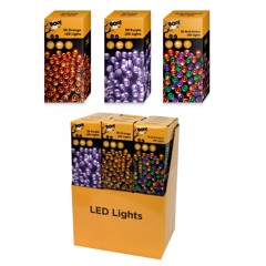 B/OP 20 LED LIGHTS - 3 ASSORTED