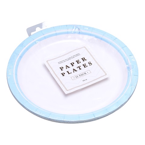 Party-Plates-18Cm-Blue-10Pk