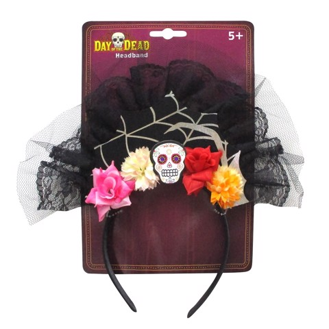 DAY OF THE DEAD HEAD BAND