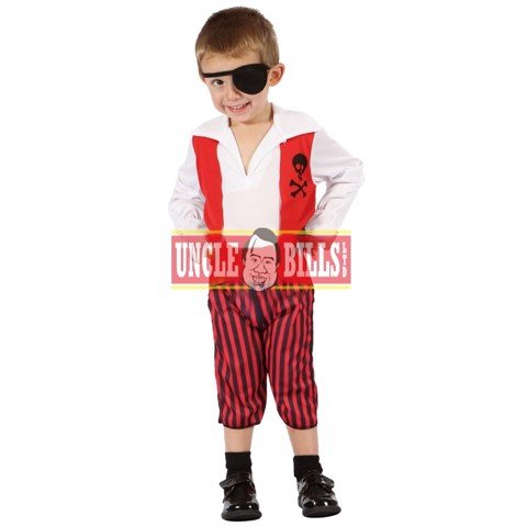 COSTUME PIRATE TODDLER BOYS