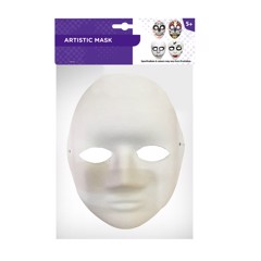 ARTISTIC MASK 2 SIZES ASSORTED
