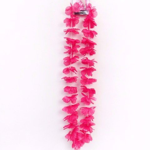 Flower-Lei-Necklace-Pink