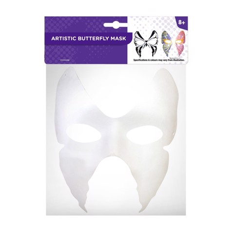 ARTISTIC BUTTERFLY MASK
