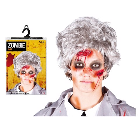 Tóc giả Zombie cho nam Halloween Uncle Bills UH00577