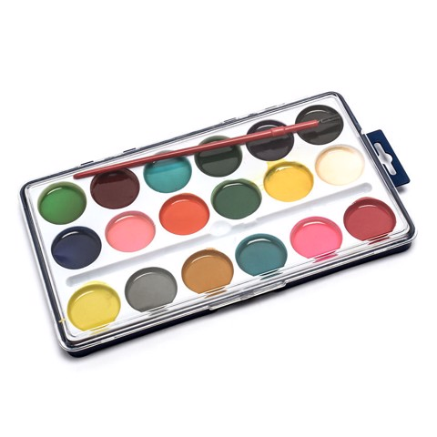 Paint-Set-Water-Colour-W/Brush