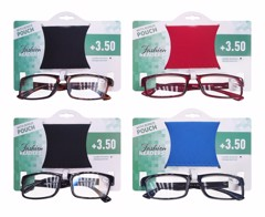 Reading Glasses W/Pouch +3.50