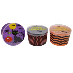 STORAGE BOX WITH LID 3 ASSORTED