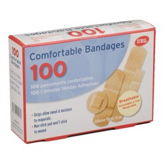Comfortable-Bandages-Pk/100