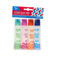 Glue Pen Clear 50Ml 4Pk