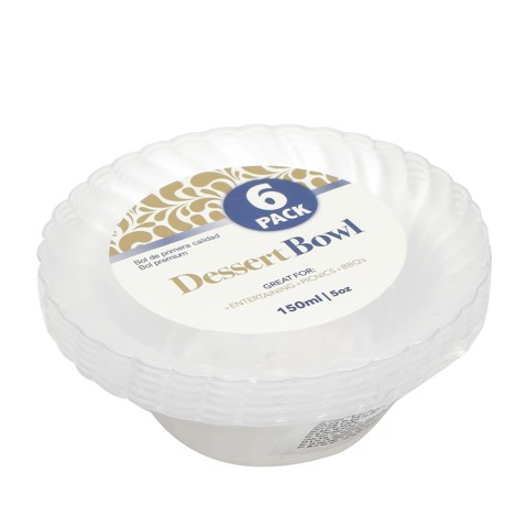 Dessert-Bowl-150Ml-Clear-6Pk
