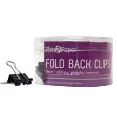 Bulldog Clips 19Mm 24Pk