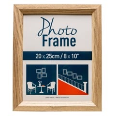 Photo Frame Oak 20 X 25Cm