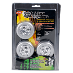 Push-Light-3-Led-3Pk