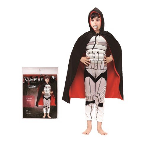 VAMPIRE ROBE DOUBLE LAYER 80cm KIDS