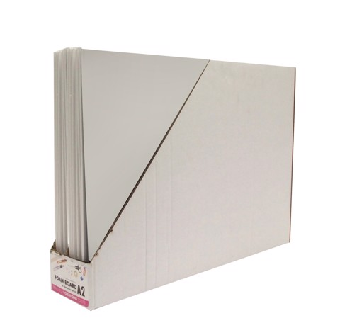 Foam-Board-A2-White