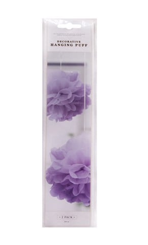 Deco-Hanging-Puff-Purple-2Pk