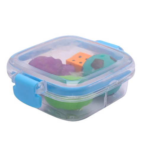Novelty-Erasers-4Pc-Box-W/Clips