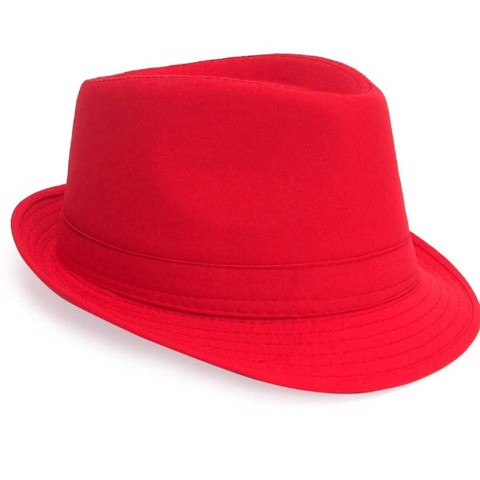 Dress-Up-Fedora-Hat-Red