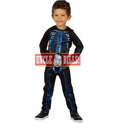 COSTUME X-RAY SKELETON TODDLER BOYS