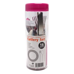 Cutlery-16Pc-Set-In-Cylinder-2Asst