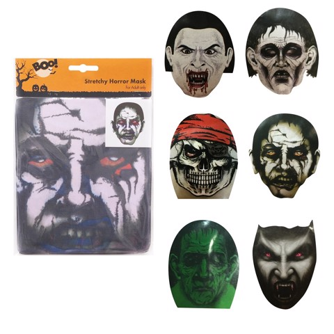 HOOD MASK 6 ASSORTED