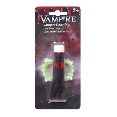 G.I.D. VAMPIRE TEETH WITH BLOOD