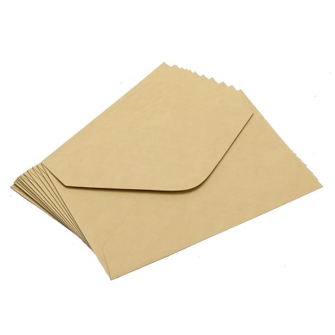 Kraft-Envelopes-19X12.5Cm-12Pk