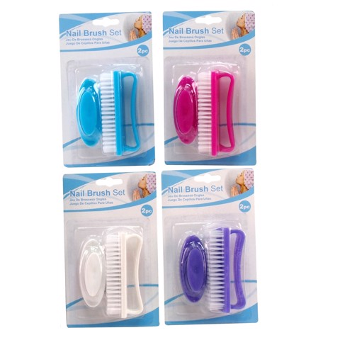 Nail-Brush-2Pc-Set-4Asst