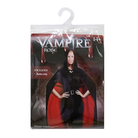 VAMPIRE ROBE DOUBLE LAYER 140cm ADULTS