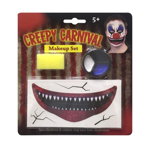 CREEPY CLOWN MAKEUP KIT