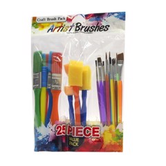 Artist Brush Value Pack 25Pc