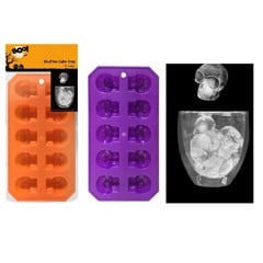 SKULL ICE CUBE TRAY - 2 ASSORTED