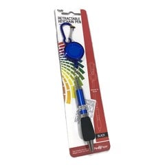 Pen-Retractable-W/Key-Holder